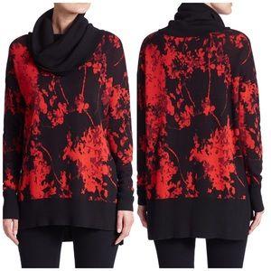 Diane Von Furstenberg Ahiga Jacquard Sweater Large